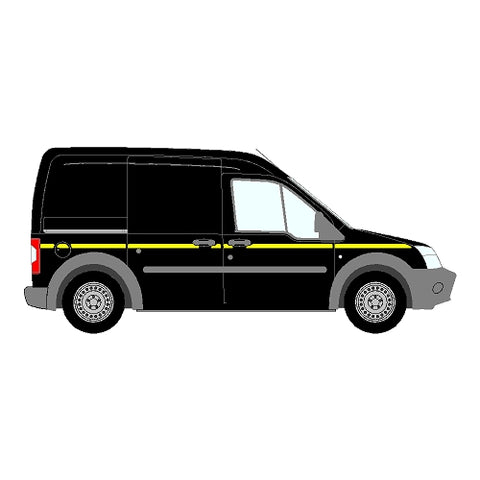 Ford Transit Connect Mk1 DD LWB 2009-2013 - Reflective Side Marking kit
