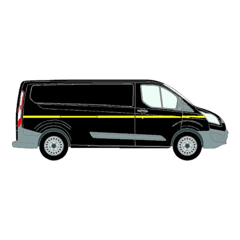 Ford Transit Custom Mk1 LWB 2013+ - Reflective Side Marking kit