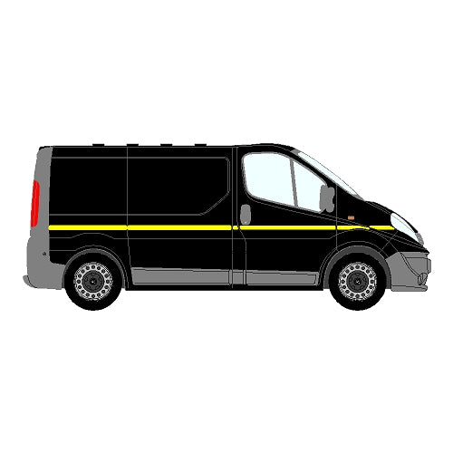 Vauxhall Vivaro Mk2 SWB 2006-2014 - Reflective Side Marking kit