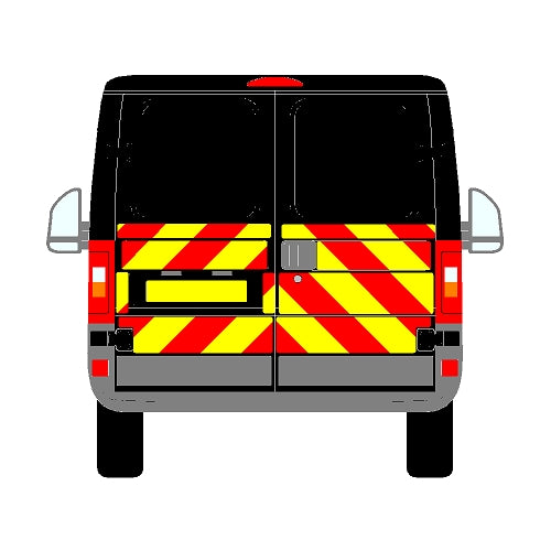 Citroen Relay Mk1 All Roofs Half Chevrons (2002-2006)
