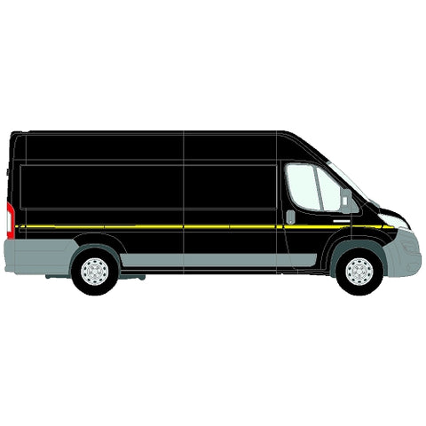 Citroen Relay Mk2 ELWB (L4) SD 2006+  - Reflective side markings kit