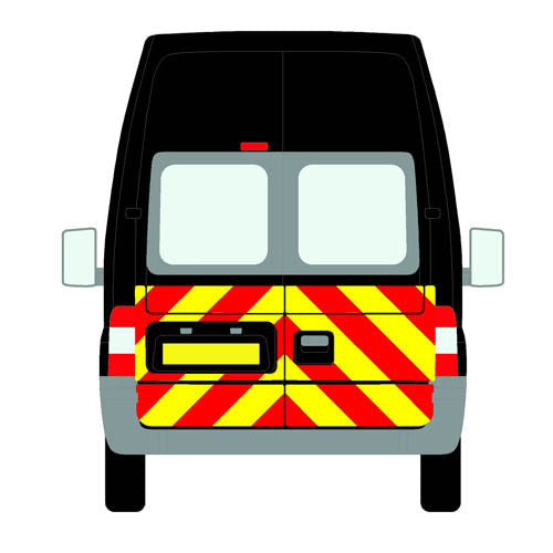 Ford Transit Mk4a All Roofs 2000-2006 chapter8 chevron kit