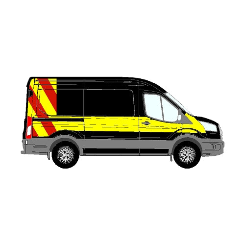 Ford Transit Mk5 L2 H2 2014+ - Chapter 8 Escort Vehicle Specification Kit