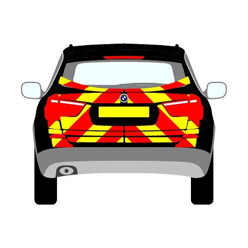 BMW X3 Mk2 (F25) SUV Rear Chevrons (2012 - 2017)