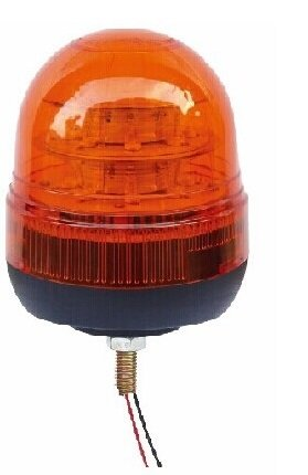 12v/24v 16 x 3w LED Beacon Amber
