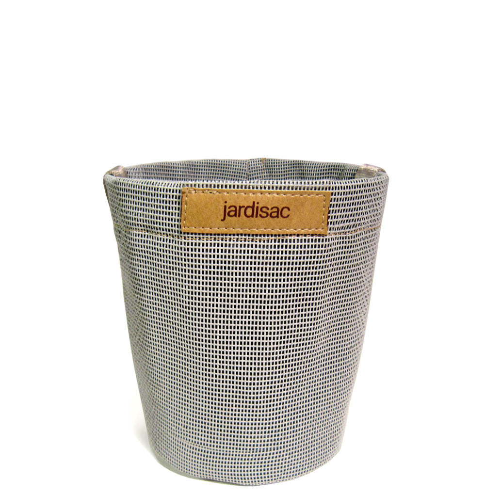 grey plant container flower pot geotextile