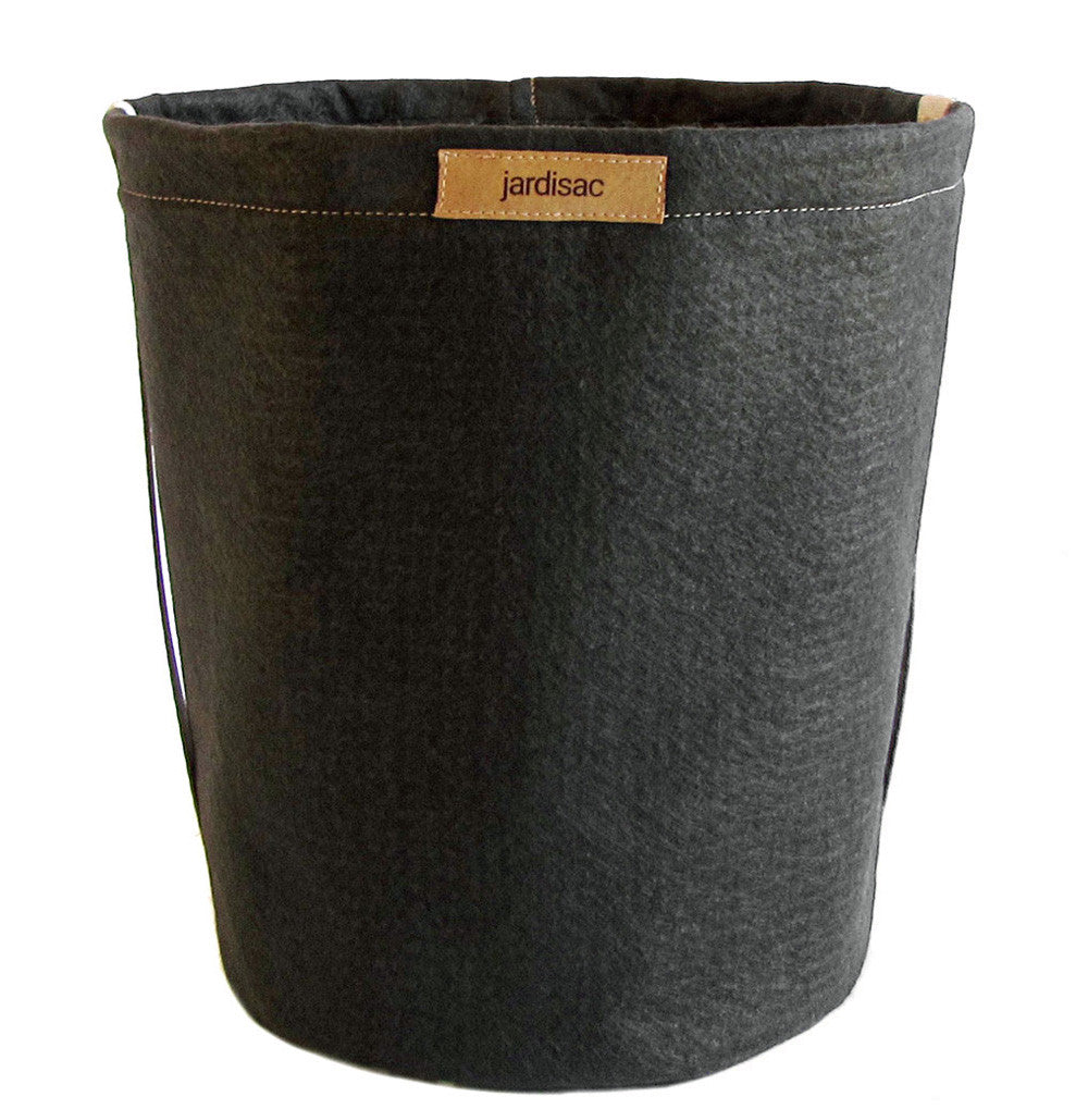 black geotextile planters boxes for outdoor gardening