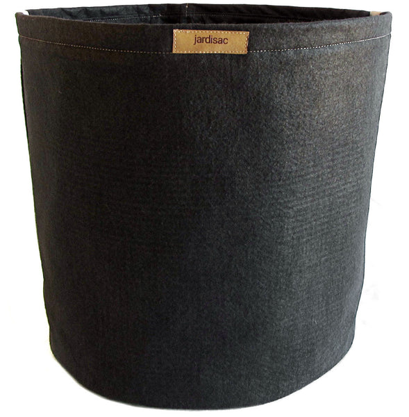 Large cheap plant pots geotextile with handles on the side