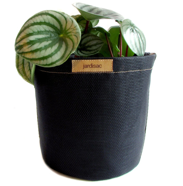 Black Plant Pots Geotextile outdoor planters indoor smart pot