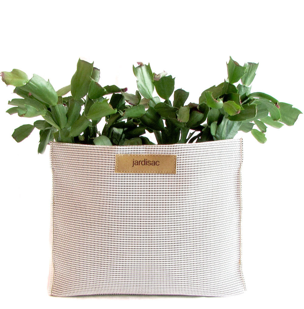 geometric planters white in geotextile garden pots for indoor and outdoor