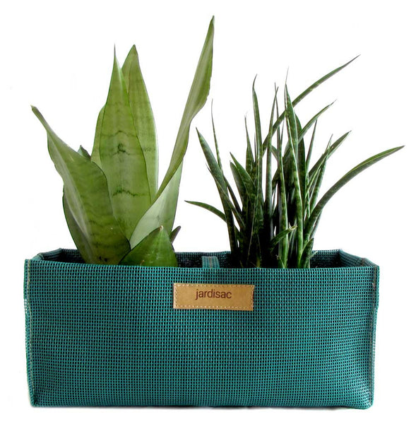 Planters green plastic fabric cheap plant pot