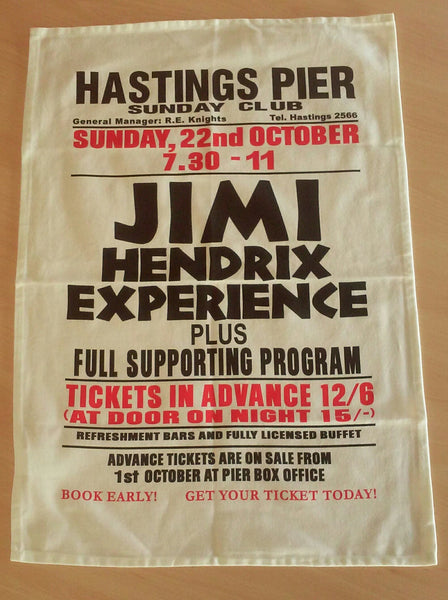 The Jimi Hendrix Experience Tea Towel