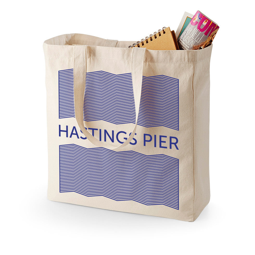 Hastings Pier Heavy-Weight Canvas Bag