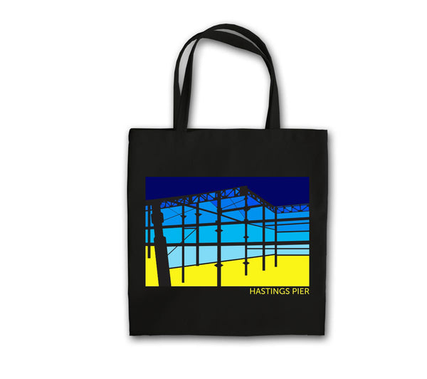 Under the Pier Heavy-Weight Canvas Bag