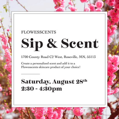 FlowEsScents Sip and Scent
