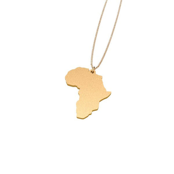 Africa Pendent necklace - Infinity 6 Apparel, LLC