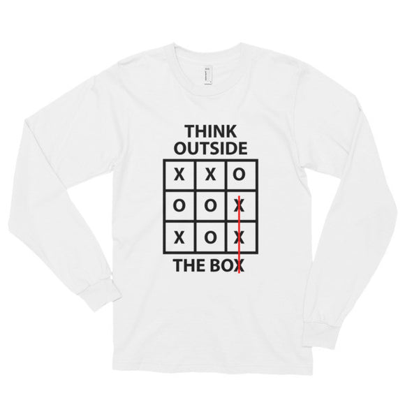 Out The Box Long sleeve t-shirt (unisex)