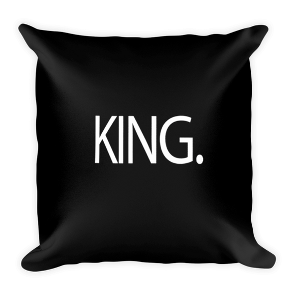 King Pillow (Black)