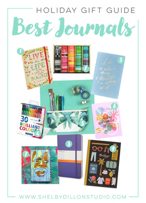 Holiday Gift Guide - Best Journals and Supplies