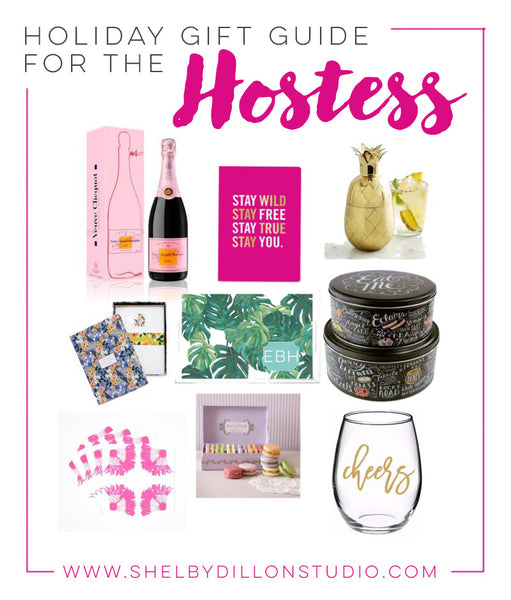 Holiday Gift Guide - Ideas for Hostess Gifts