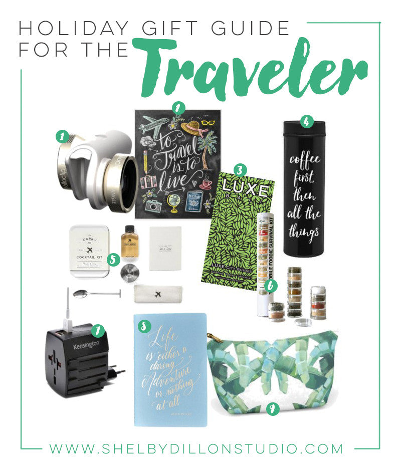 Holiday Gift Guide: Gift Ideas for the Traveler