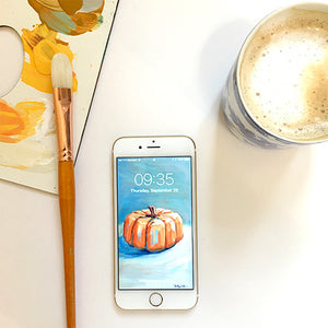 Free Festive Fall iPhone Wallpaper from Shelby Dillon Studio