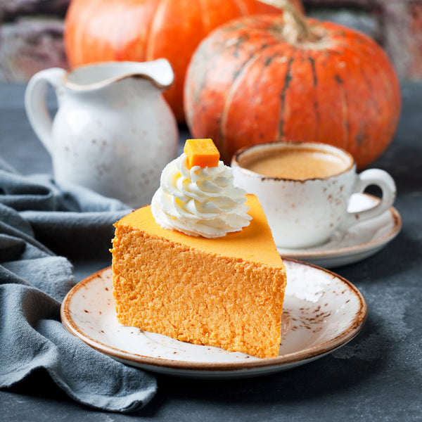 Thanksgiving Day Twist - Pumpkin Cheesecake