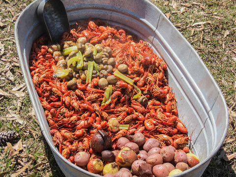Tub-of-crawfish