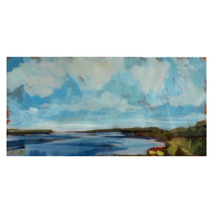 "Marsh #19 -6x12"" Horizontal Painting"