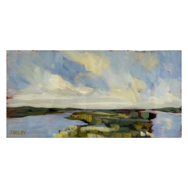 "6x12"" Horizontal Painting - Marsh #20"