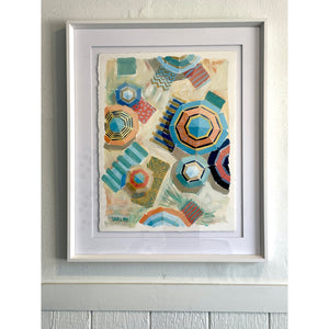 Beachy Keen - 18x24 Framed Vertical Painting