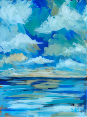 "Boating Weather - 18x24"" Vertical Painting"