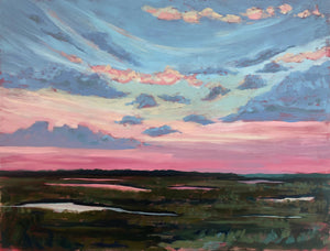 "Dawn's Edge - 30x40"" Horizontal Painting - SALT Collection"