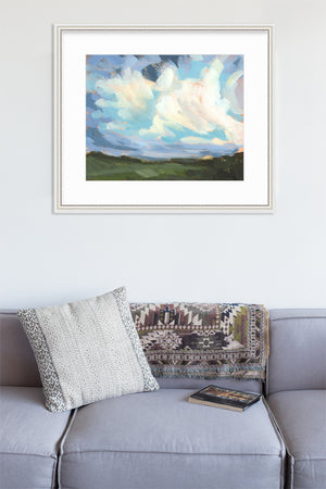 Art On Fire 2020 - Day 71 - horizontal giclée print