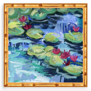 Water Gardens - Day 13 - square giclée print