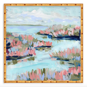 Water Gardens - Day 17 - square giclée print