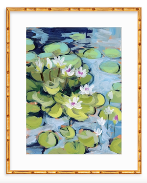 Water Gardens - Day 4 - vertical giclée print