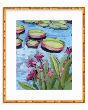 Water Gardens - Day 7 - vertical giclée print