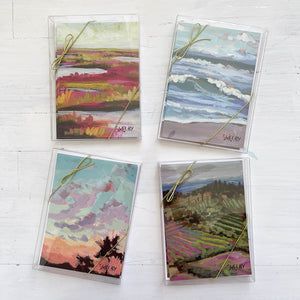 "5x7"" Note Cards - Summer Sunrise - featured in Art On Fire 2020"