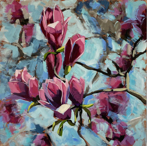 Weekly Painting Lesson - Class Materials - Featured on Art After Dark