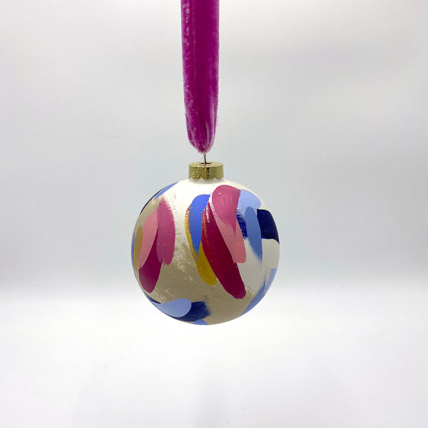 Berry - hand painted ceramic ornament