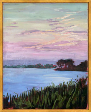 Lowcountry Evening - vertical giclée print