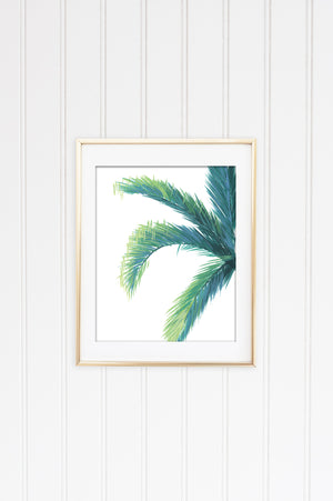 Palm Wall Art Painting Print