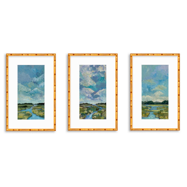 Prince of Tides Triptych - vertical print set