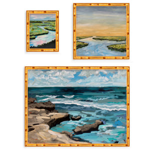 Coastal Landscape Print Trio - limited edition print set
