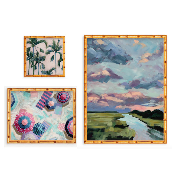 Serenity of Summer Print Trio - limited edition print set