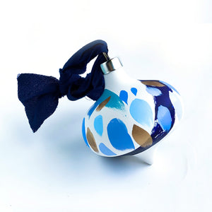 Royale - retro hand painted ceramic ornament