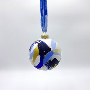 Royale - hand painted ceramic ornament