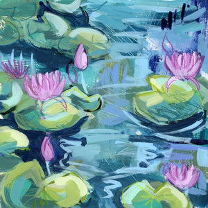 Water Gardens - Day 12 - square giclée print