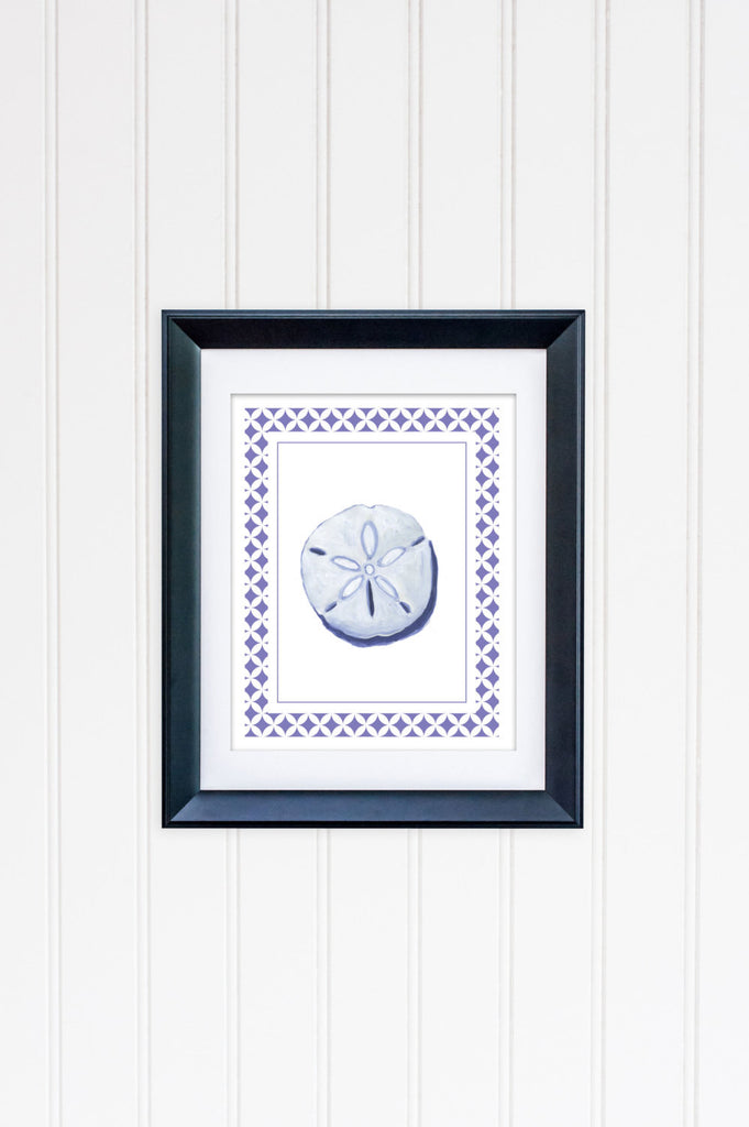 Sand Dollar Art Print Framed | Art Print